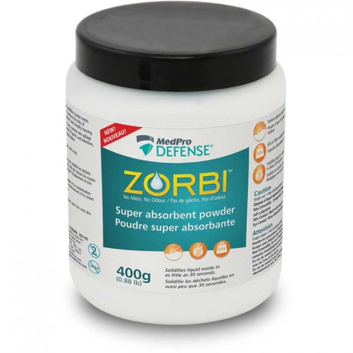 ZORBI™ Super absorbent powder