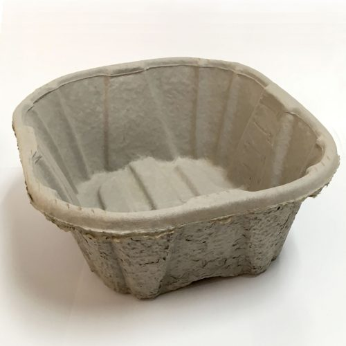 Disposable Pulp Wash Basin - Maceratable