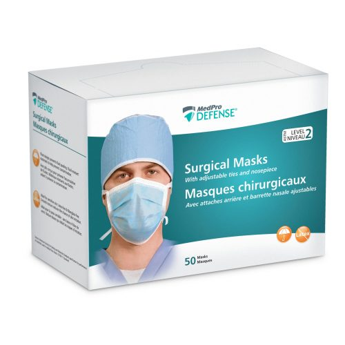 MedPro Defense® Surgical Masks (with Ties)