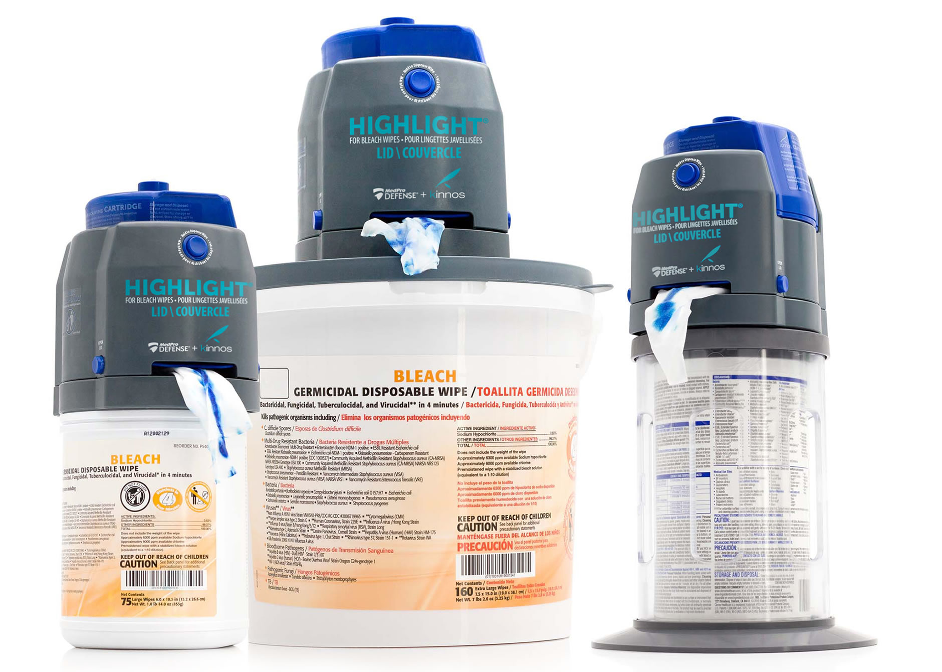Highlight For Bleach Wipes - Training Video