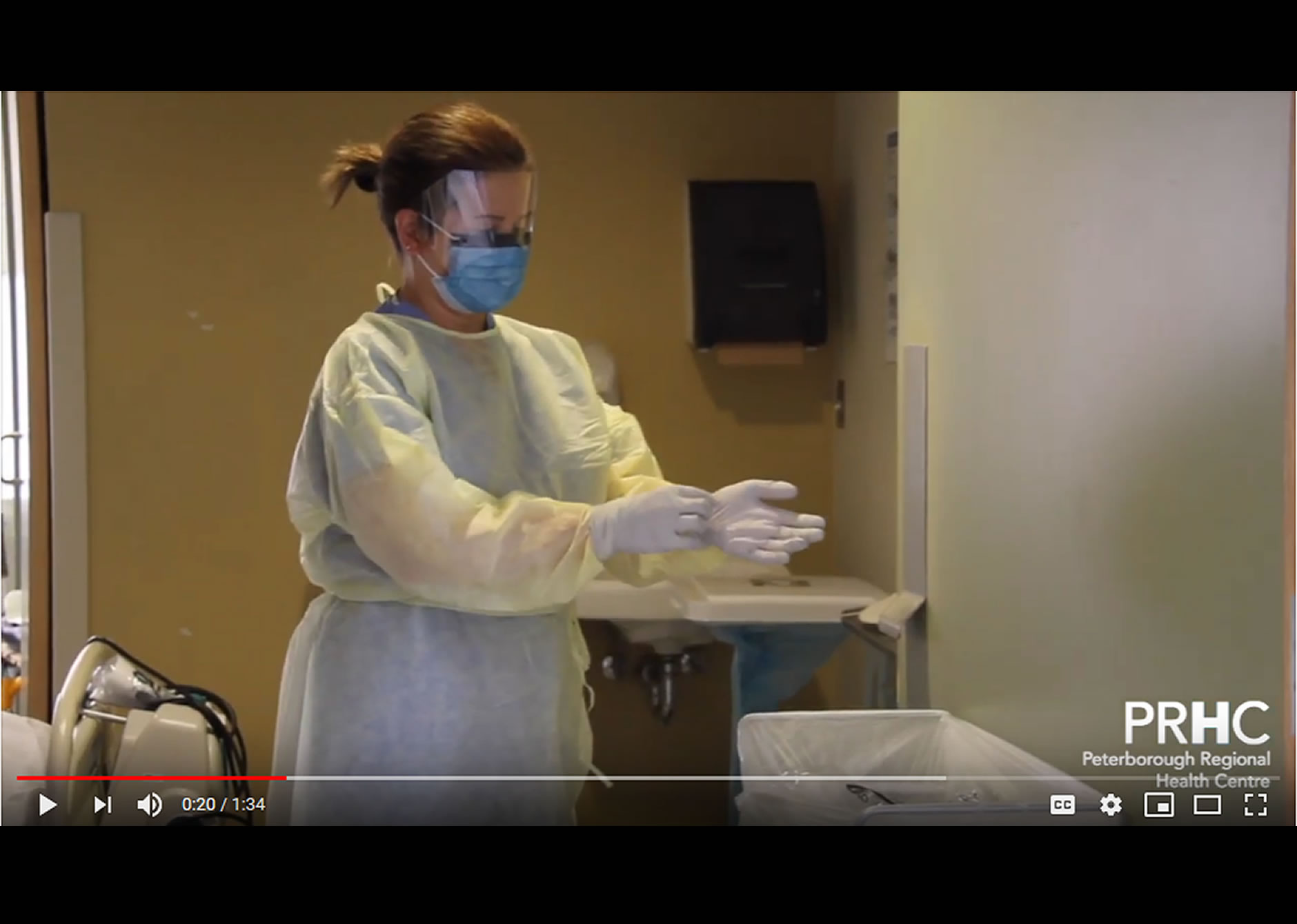 Doffing Personal Protective Equipment