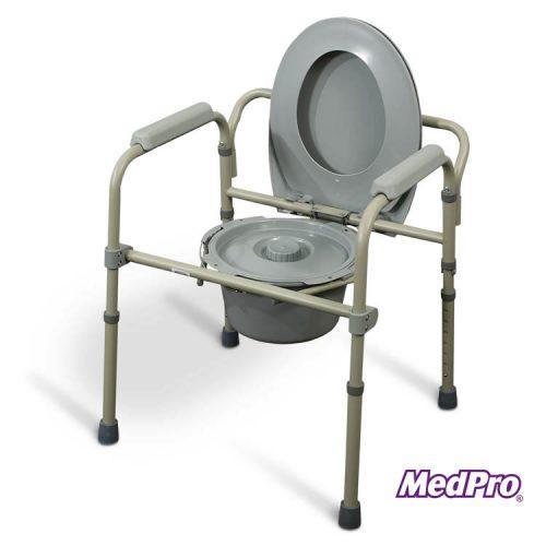 Chaise d'aisance pliable