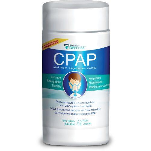 Lingettes pour masques CPAP