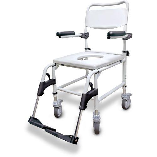 Chaise de douche et d'aisance à hauteur réglable, par Zorbi™